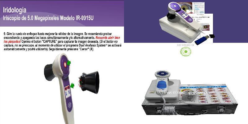 iridology camera