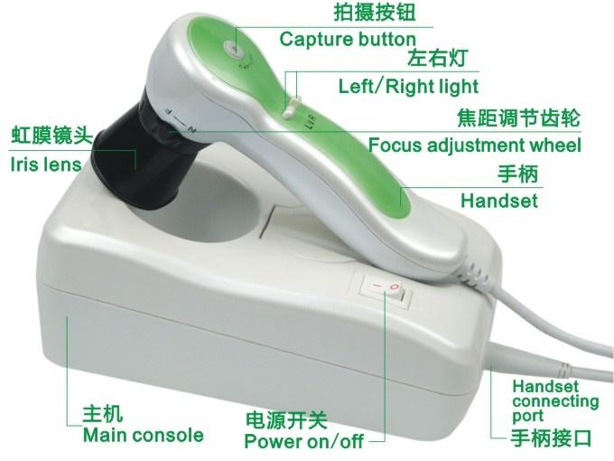 Eye Iriscope, Iridology camera equipment, USB Digital Iriscope scanner