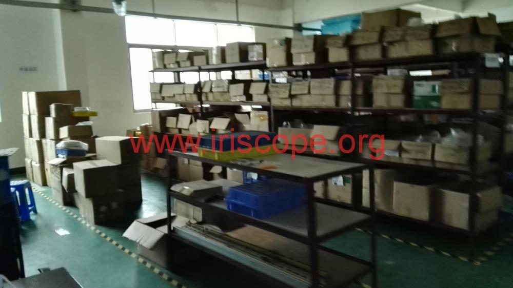 iriscope factory room