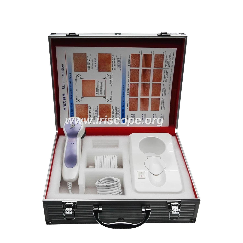 skin analyzer device