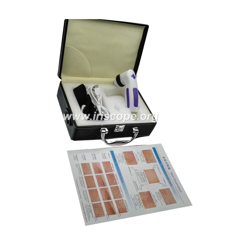 skin analyzer to go