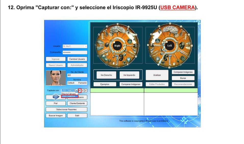 Iriscopio de 12.0 Megapíxeles (Modelo IR-9925U) (25)