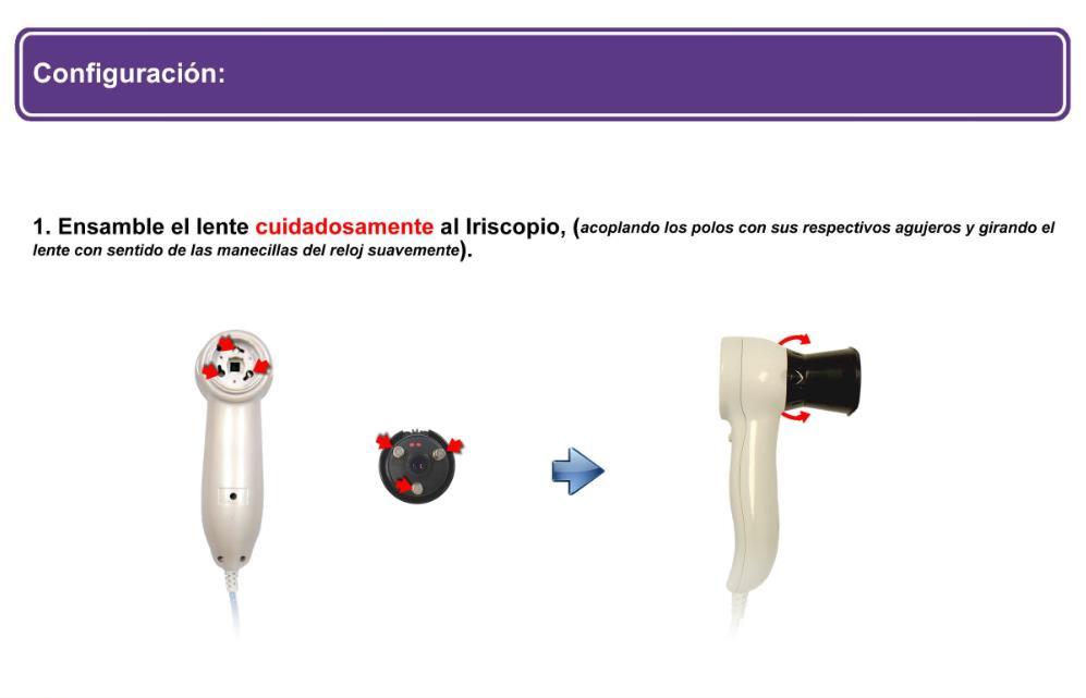 Iriscopio de 5.0 Megapíxeles IR-9915U (7)