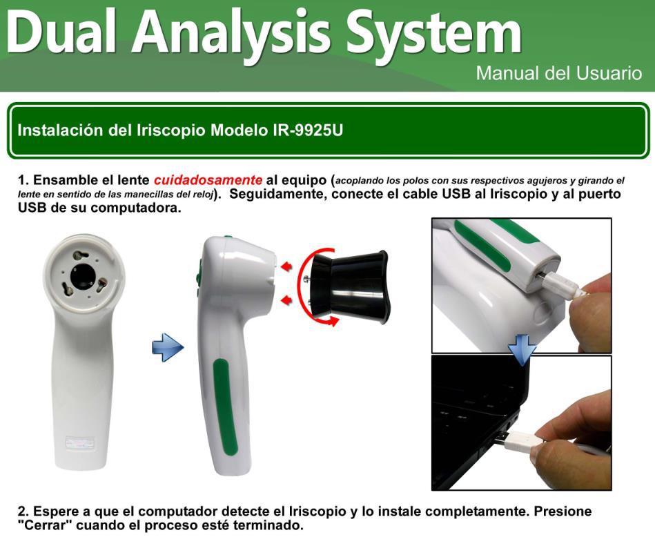 iriscopio obermax