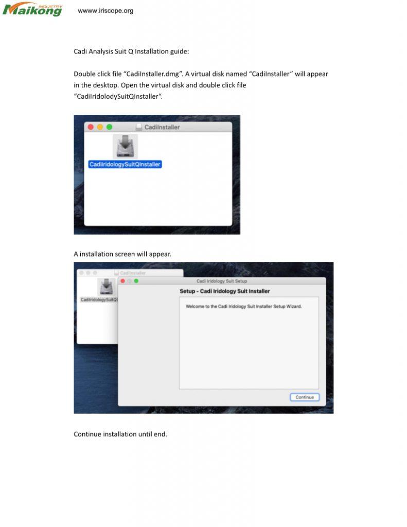 iridology software for mac